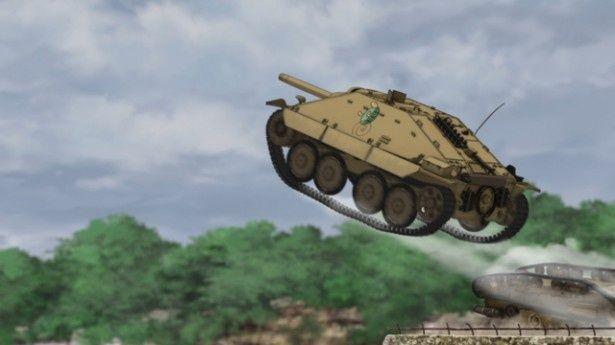 戦車なのに空も飛んじゃう?