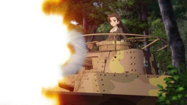 戦車ごとの揺れの違いなども体験できる