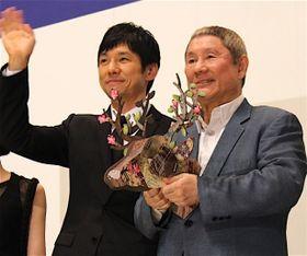 たけし、西島秀俊との共演に感謝!「西島くんとできればいいな」