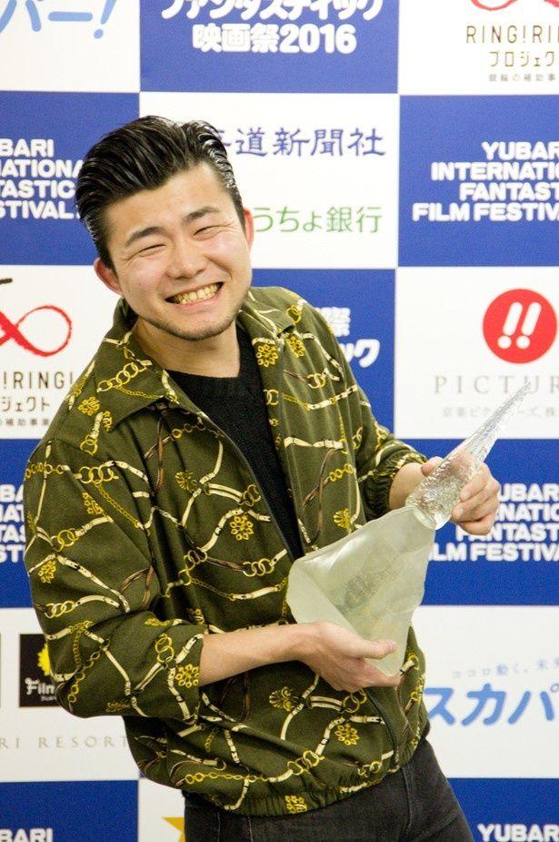 『孤高の遠吠』でゆうばり国際ファンタスティック映画祭2016のオフシアター・コンペティション部門グランプリに輝いた小林勇貴監督