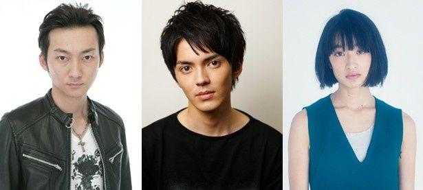 Netflixオリジナル作品「火花」がクランクアップ。林遣都(写真中央)、波岡一喜(左)、門脇麦(右)が同作のメーンキャストを務める