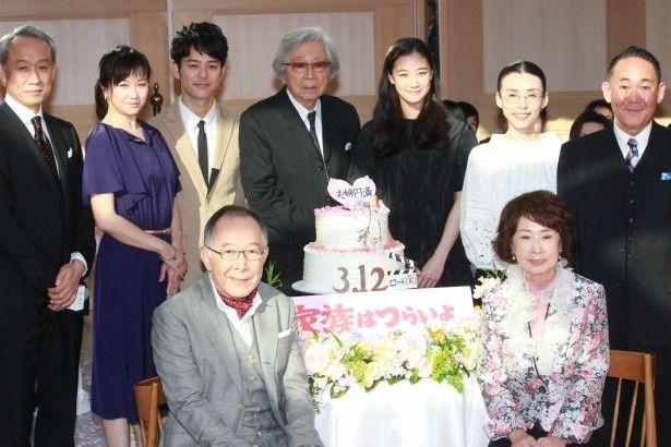 『家族はつらいよ』の金婚式で楽しくクロストーク