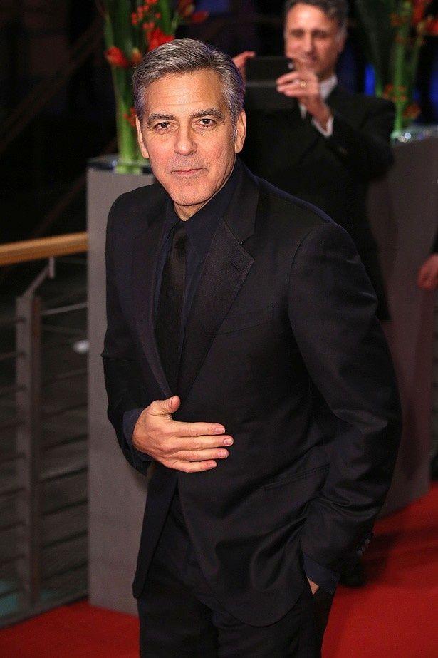 俳優引退を示唆しているジョージ・クルーニー