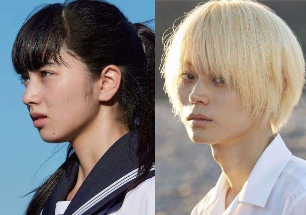 今秋公開の映画「溺れるナイフ」でW主演を務める小松菜奈、菅田将暉