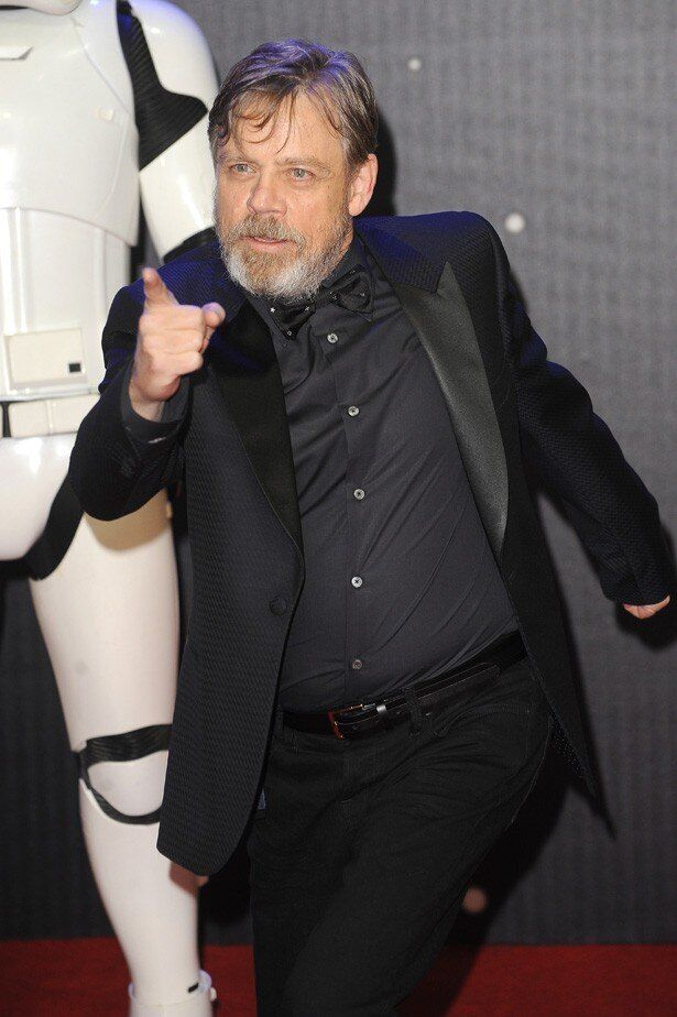 『スター・ウォーズ』シリーズでルーク・スカイウォーカー役を演じているマーク・ハミル