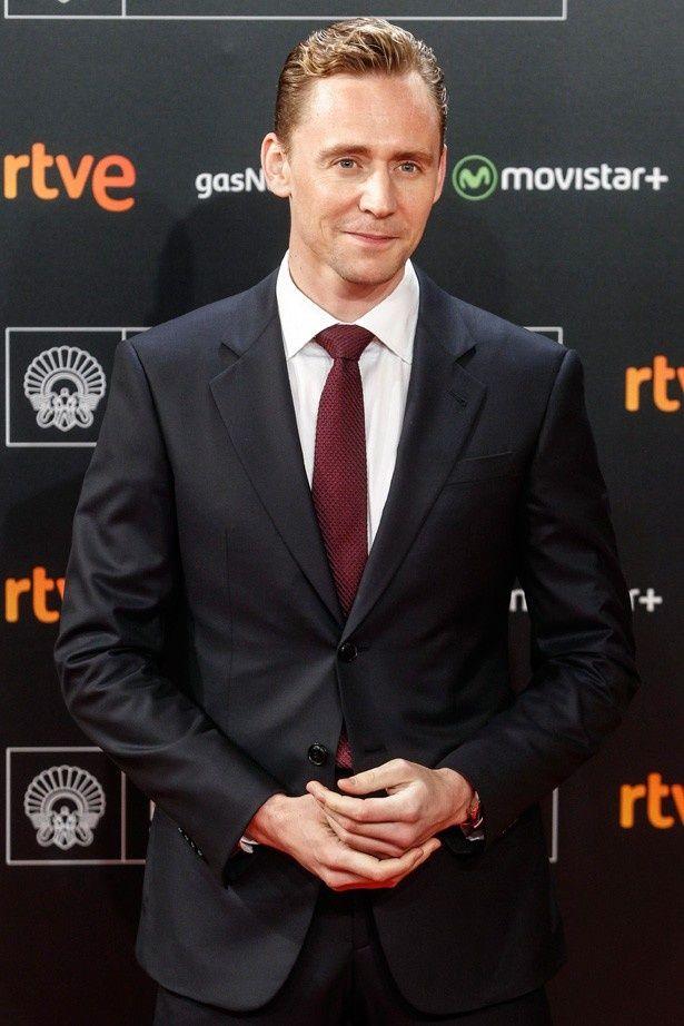 ロキ役でおなじみの英国の人気俳優、トム・ヒドルストン