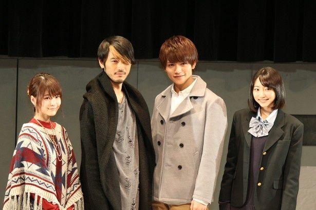 「仮面ライダーアマゾンズ」の製作発表記者会見が東京ドームシティのシアターGロッソで行われた