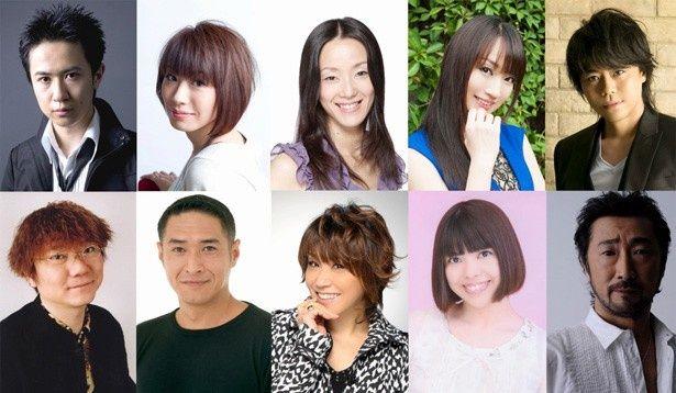 【写真を見る】日本語吹替版ではエリック役に杉田智和、邪悪な女王役に田中敦子、氷の女王役に水樹奈々など、超豪華声優陣が集結