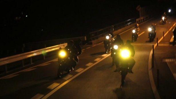 バイクも富士宮の不良たちが実際に乗っているもの