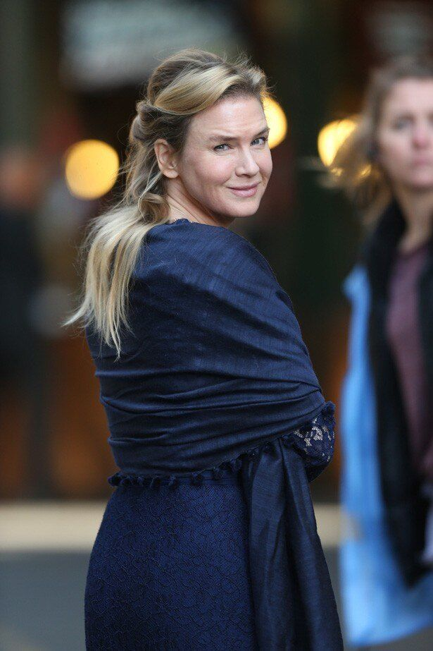 昨年10月、『Bridget Jones Baby』撮影中のレニー・ゼルウィガー