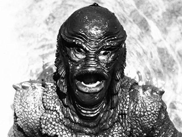 イーストウッドの記念すべき俳優デビュー作品『半魚人の逆襲』