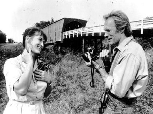 世界的ベストセラー小説を映画化した『マディソン郡の橋』(95)
