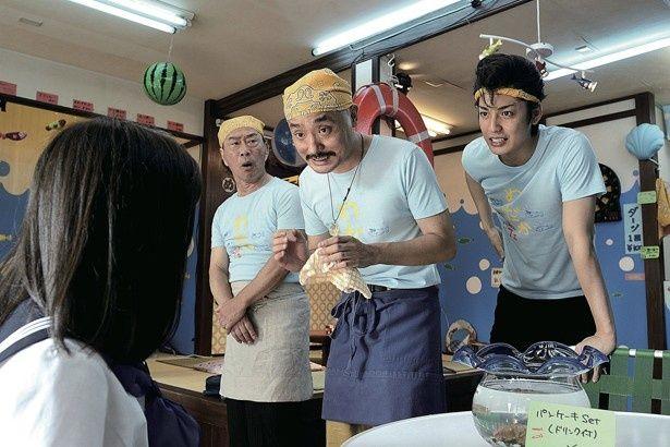 『セーラー服と機関銃 -卒業-』でヤクザの子分を演じた大野拓朗