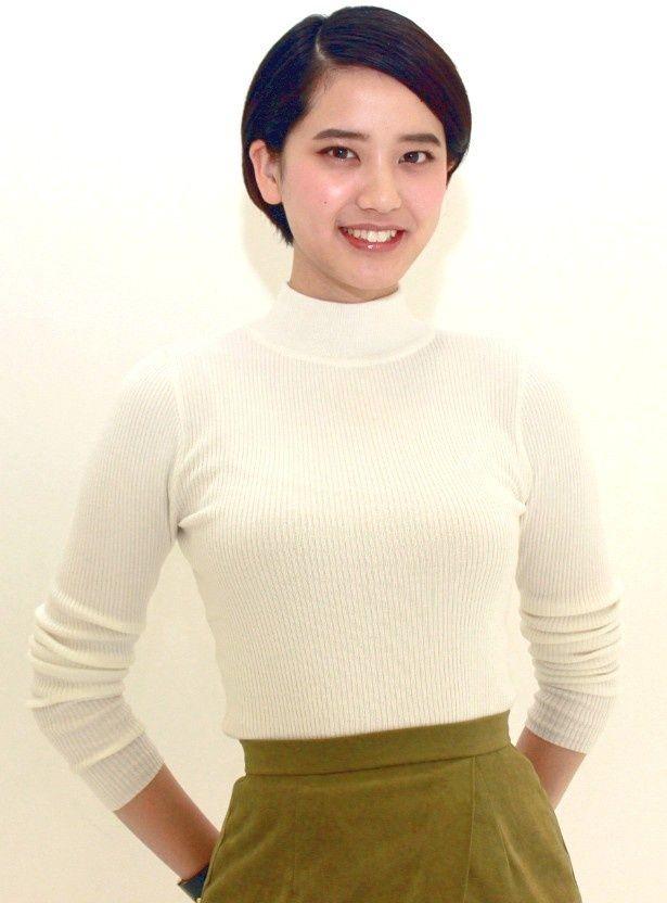 dTV「アイアムアヒーロー はじまりの日」に出演した山崎紘菜