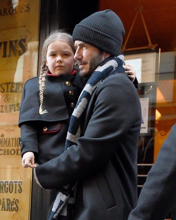 英国で最も影響力のあるセレブの子供はベッカム家のハーパー