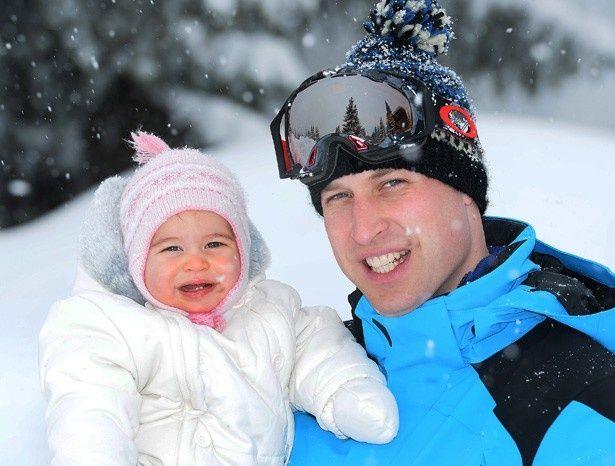 ウィリアム王子とシャーロット王女
