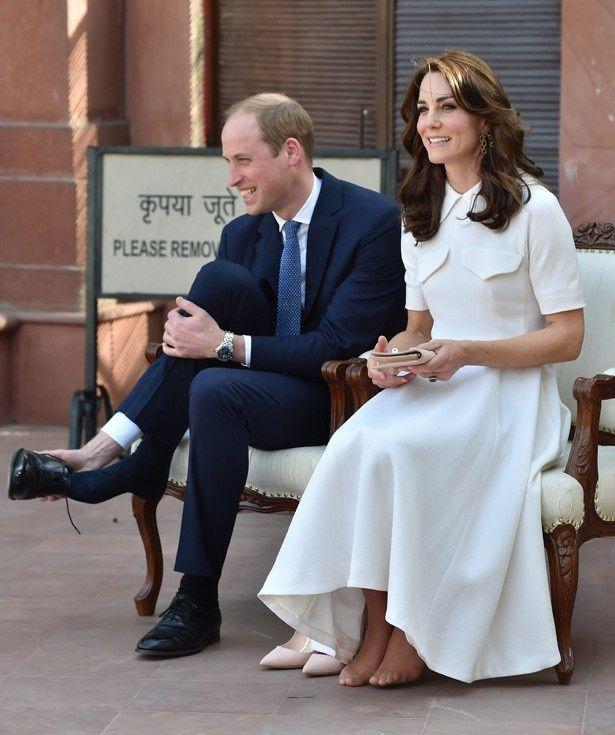 ウィリアム王子と一緒にインドを訪れているキャサリン妃