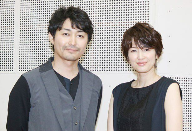 夫婦役を演じた安田顕と吉瀬美智子にインタビュー!