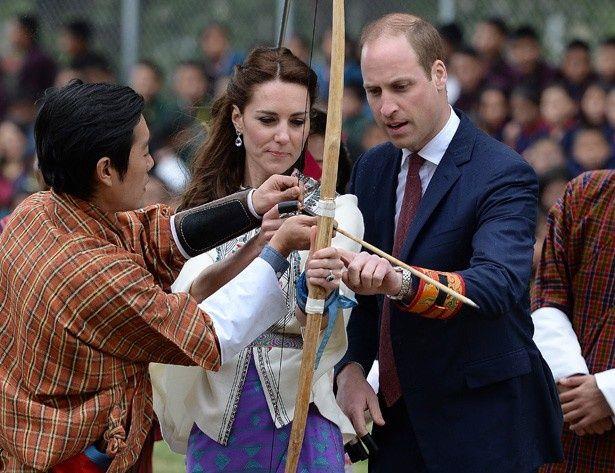 アーチェリーはブータンの国技