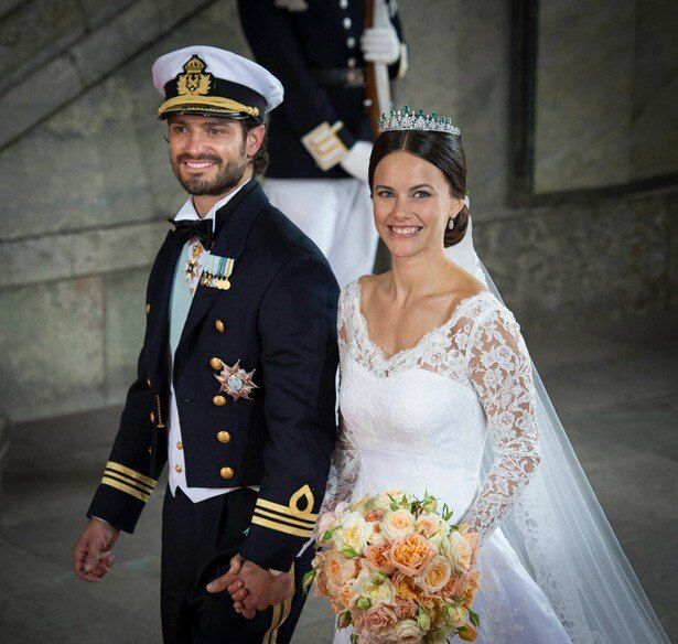 カール・フィリップ王子とソフィア妃