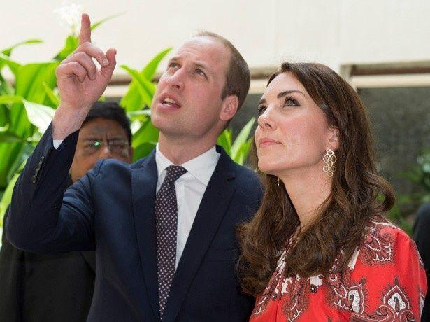 ウィリアム王子と共にインドを訪問したキャサリン妃