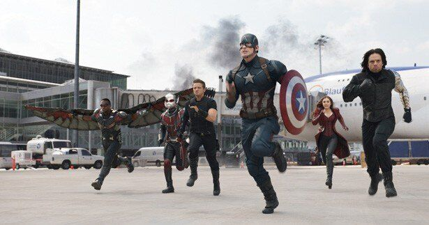 キャプテン・アメリカチームの一員としてアントマンが参戦!