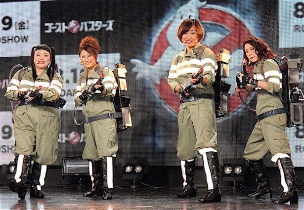 『ゴーストバスターズ』テーマ曲日本語吹替版を披露