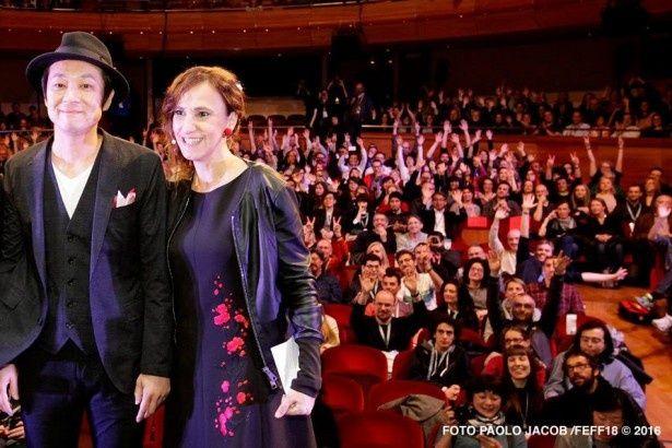 「ヒメアノ~ル」のワールド・プレミア上映が行われた