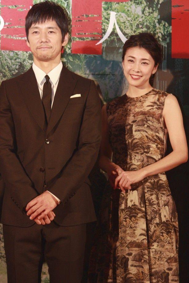 西島秀俊と竹内結子が夫婦役で共演!