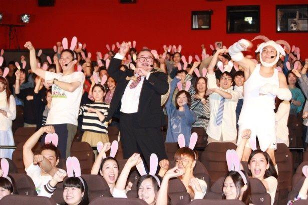 ゲストも観客もノリノリで踊った