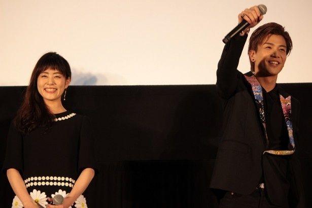 【写真を見る】岩田剛典はライブのように「盛り上がってますかー!」