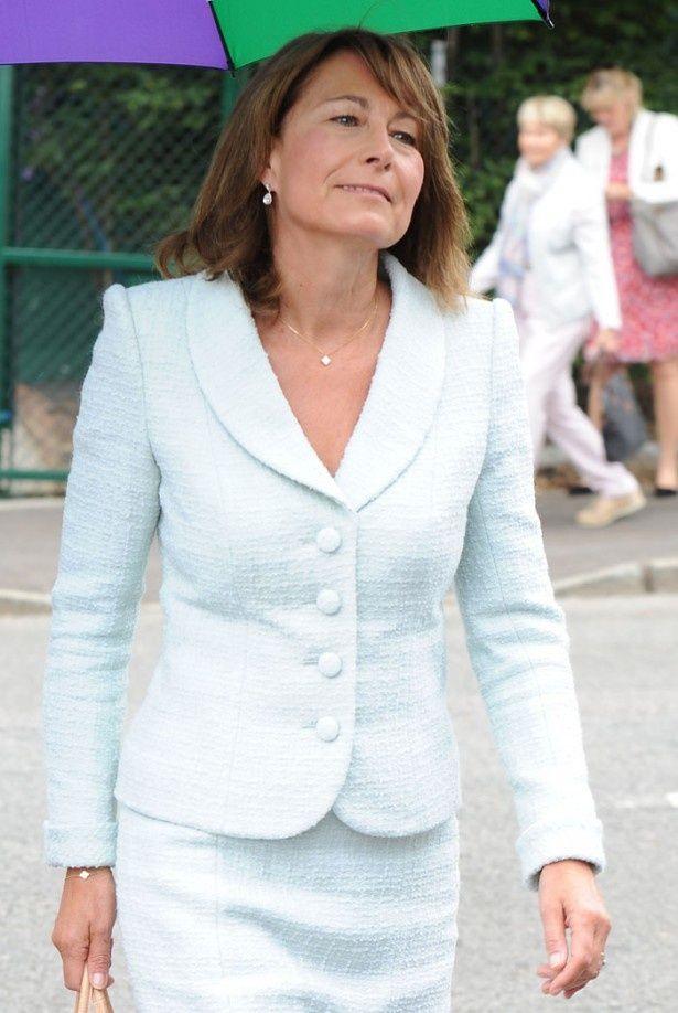 キャサリン妃の母、キャロル・ミドルトン