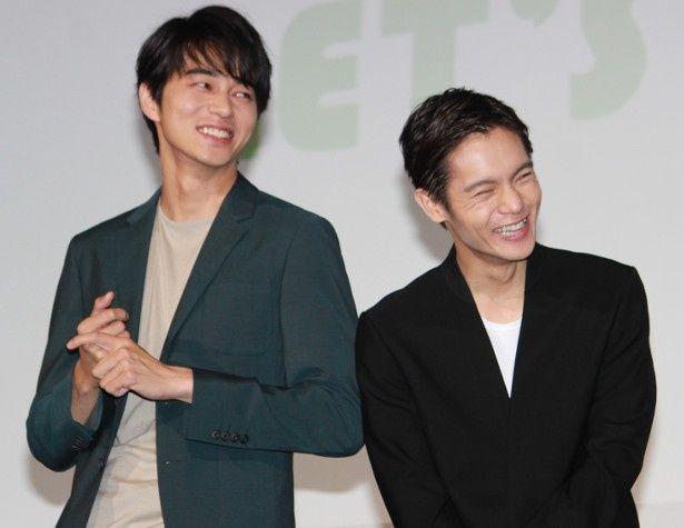 東出昌大と窪田正孝が大爆笑!