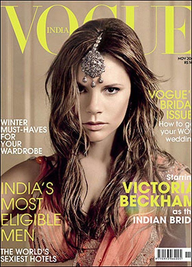 【写真を見る】これまでにも何度かヴォーグ誌の表紙を飾り、インド版にも登場したことがあるヴィクトリア
