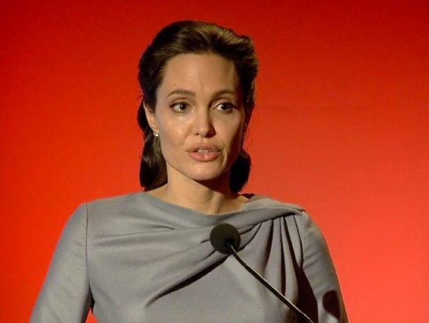 欧州の難民問題に関して発言したアンジェリーナ・ジョリー