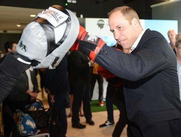 ウィリアム王子もボクシングに挑戦