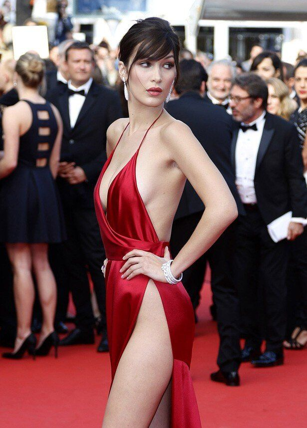 カンヌ国際映画祭に登場したジジ・ハディッドの妹でモデルのベラ・ハディッド