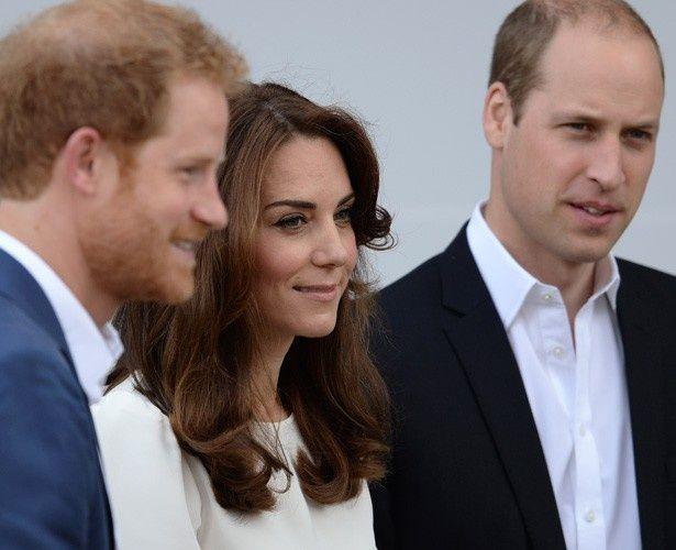 ウィリアム王子、ヘンリー王子と共にチャリティに参加したキャサリン妃