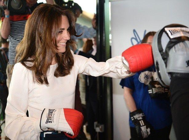 ボクシングを楽しんだキャサリン妃