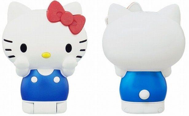 キティちゃんがケータイに!「Hello Kitty FIGURINE KT-01」(税抜1万2000円)