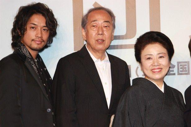『団地』で共演した藤山直美、岸部一徳、斎藤工