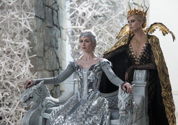 豪華スターが集結した『スノーホワイト/氷の王国』は3位に