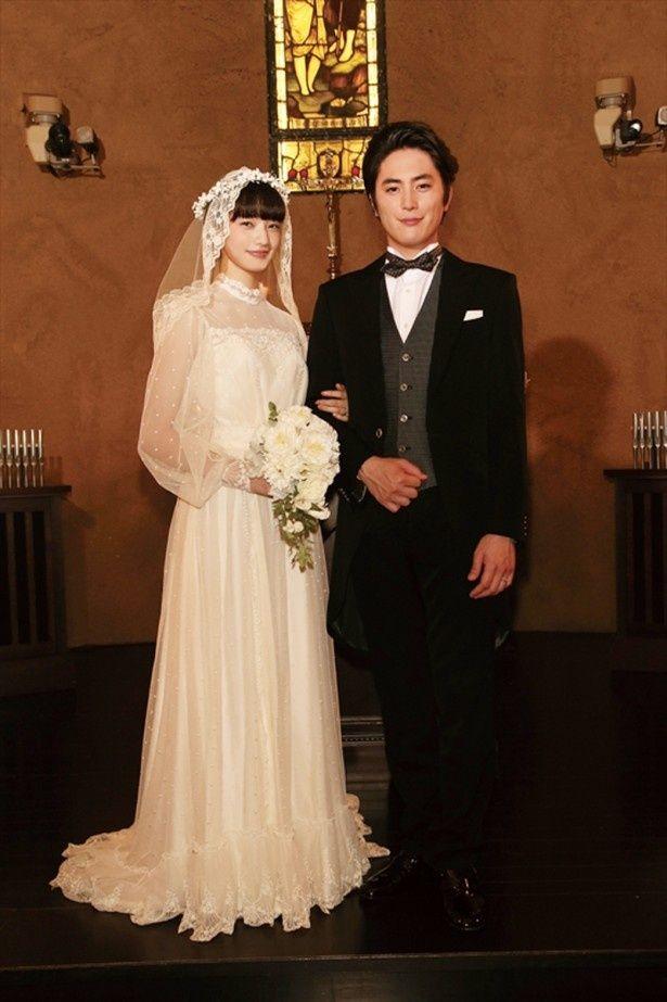 小松菜奈がウエディングドレス姿を披露。6月4日(土)公開の映画「高台家の人々」と連動した、オリジナルドラマ「高台家の人々」を映画公開と同日に独占配信!