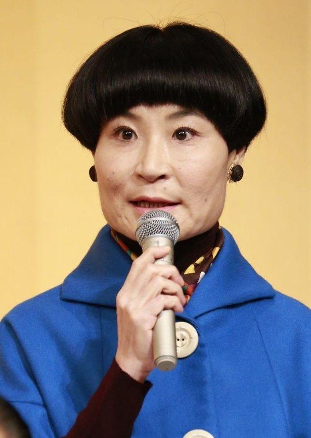 「とと姉ちゃん」で主人公の恩師・東堂先生の演技が人気を博している片桐はいり
