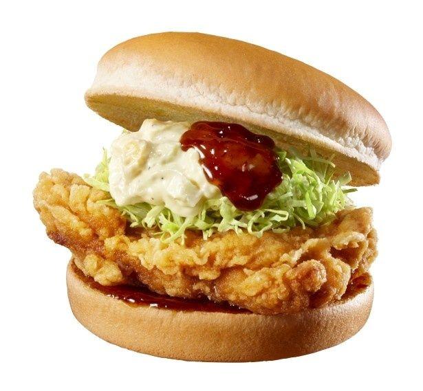 6月16日(木)発売の「若鶏のチキン南蛮タルタルバーガー」(400円、セット790円)