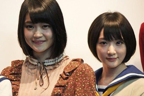 生駒里奈(乃木坂46)と石森虹花(欅坂46)がホラー映画で初共演!