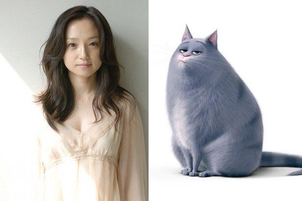 永作博美が猫役で声優に挑戦!
