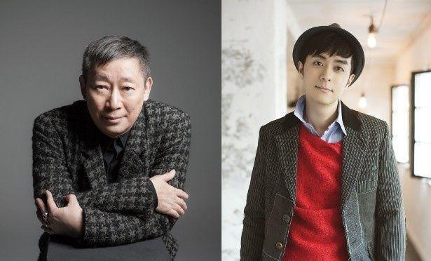 「魔法つかいプリキュア!」の新テーマ曲を手掛けた森雪之丞(左)、前山田健一(左)