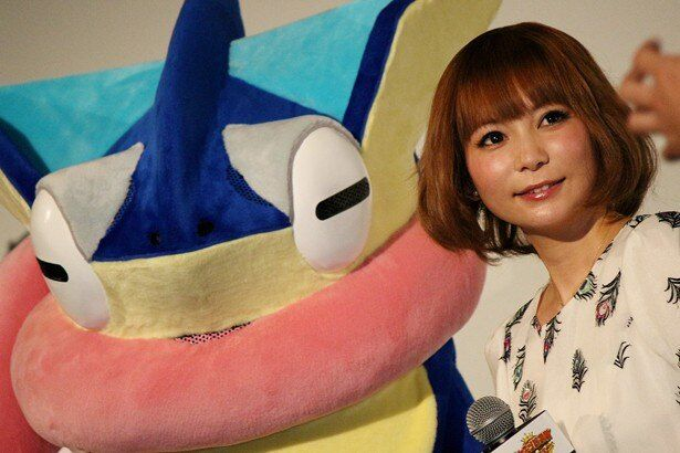 【写真を見る】興奮気味にポケモン愛を伝えた中川翔子