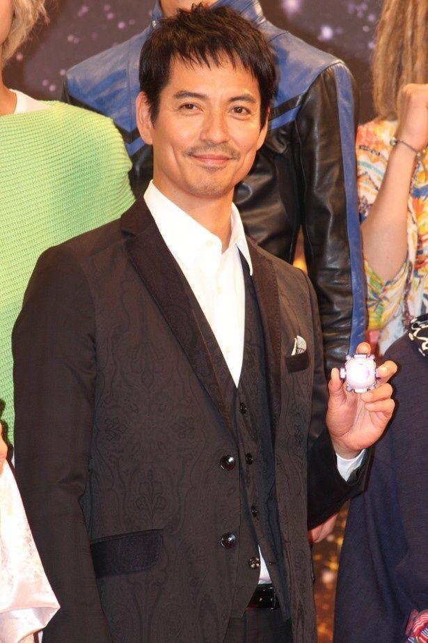 沢村一樹、『仮面ライダーゴースト』に出演できて大喜び